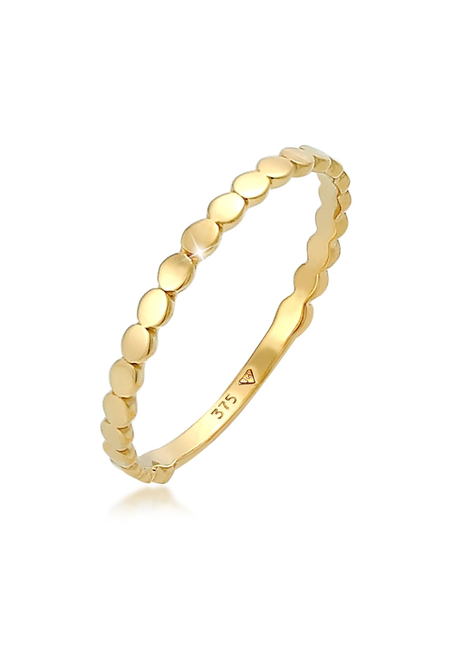 Ring Kreis   375 Gelbgold
