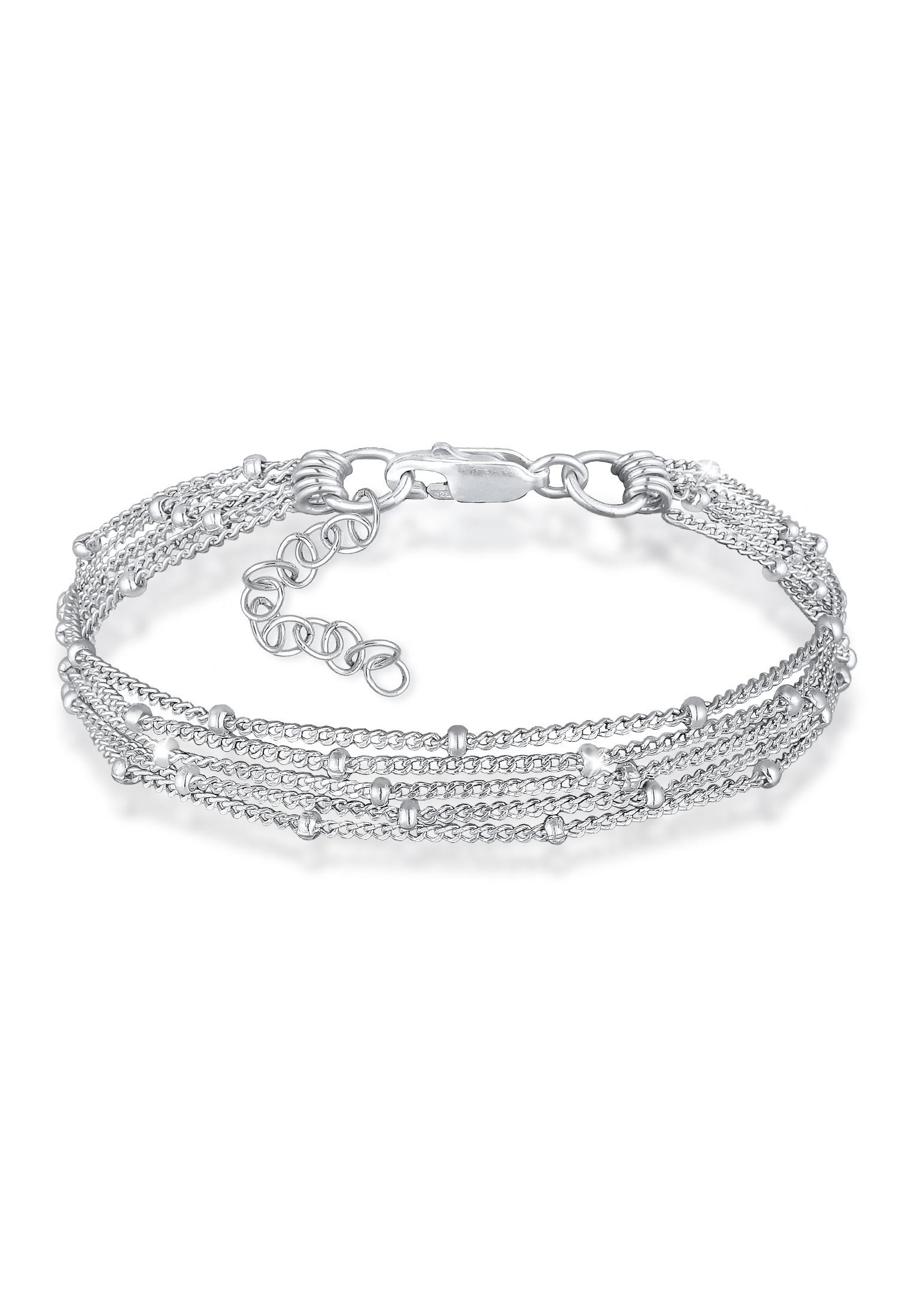 Gliederarmband   925er Sterling Silber