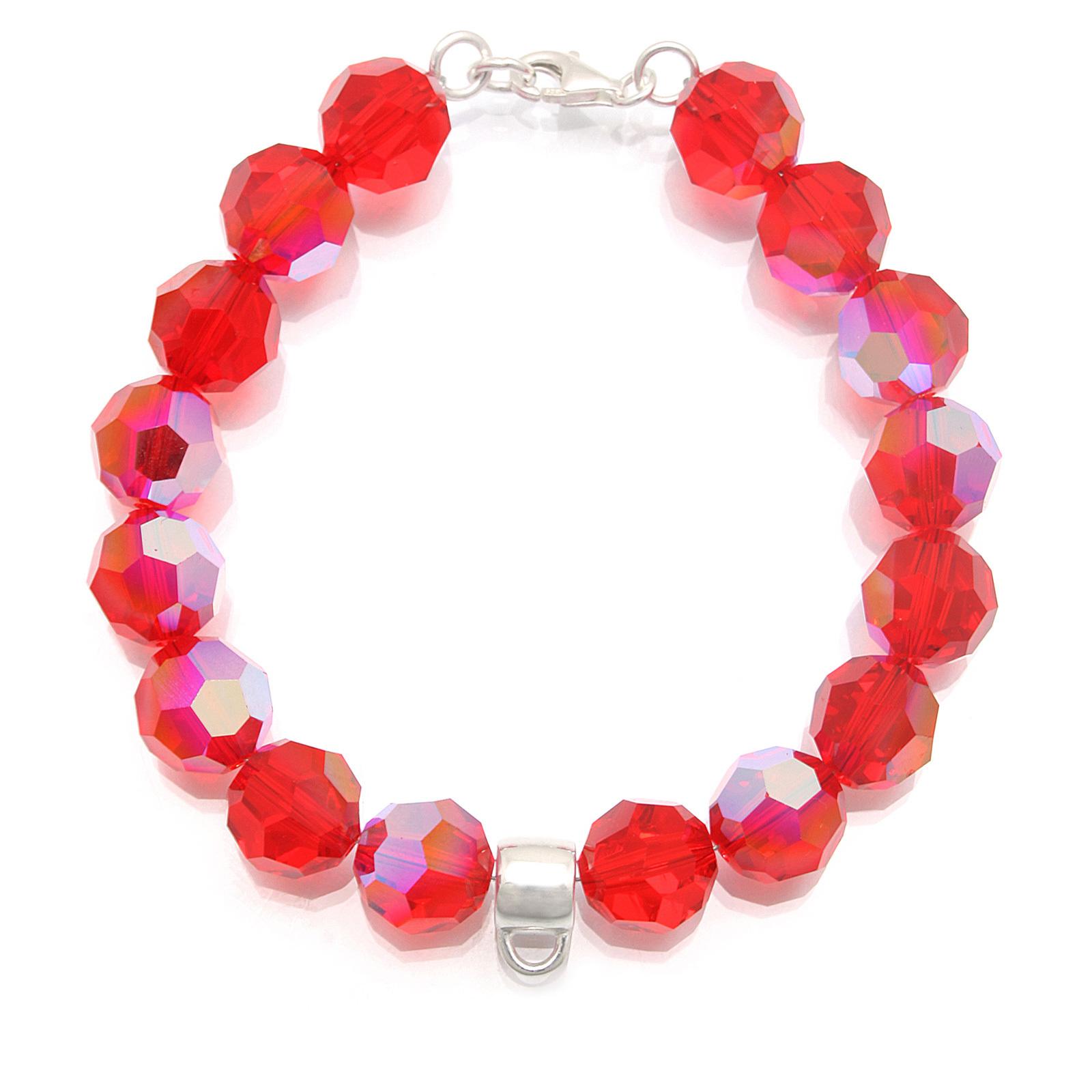 Beads Kristalle 925 Sterling Silber