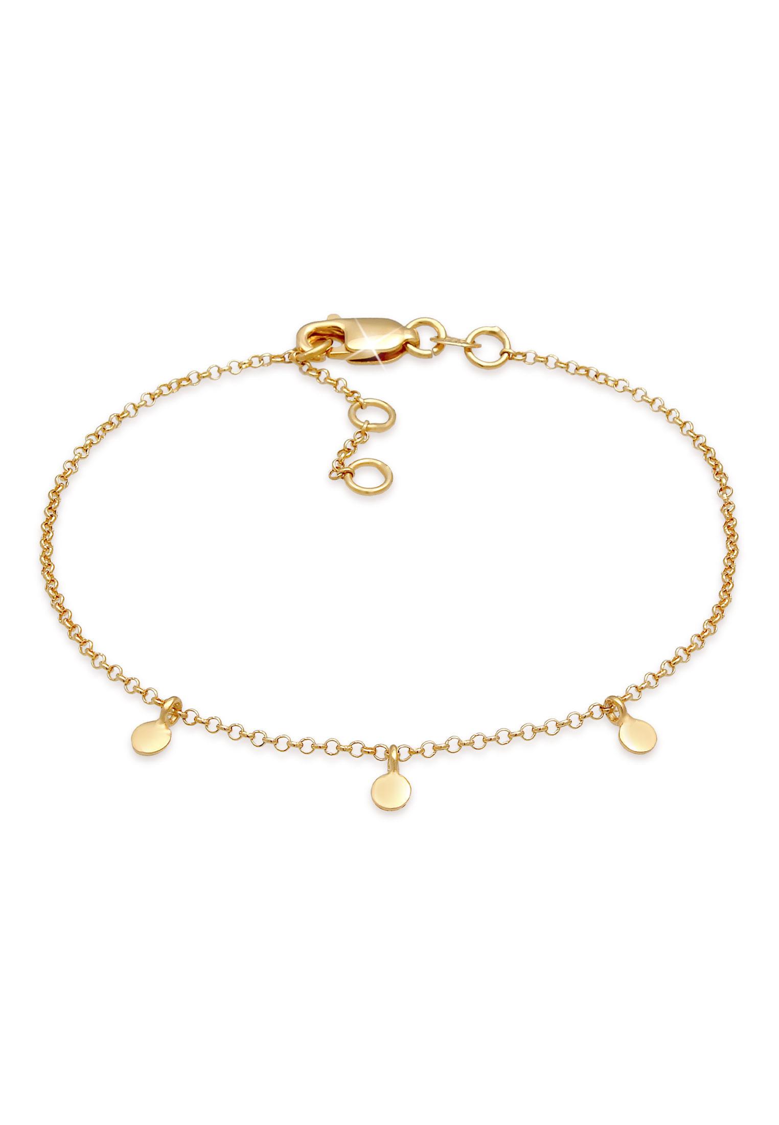 Armband Kreis | 375 Gelbgold