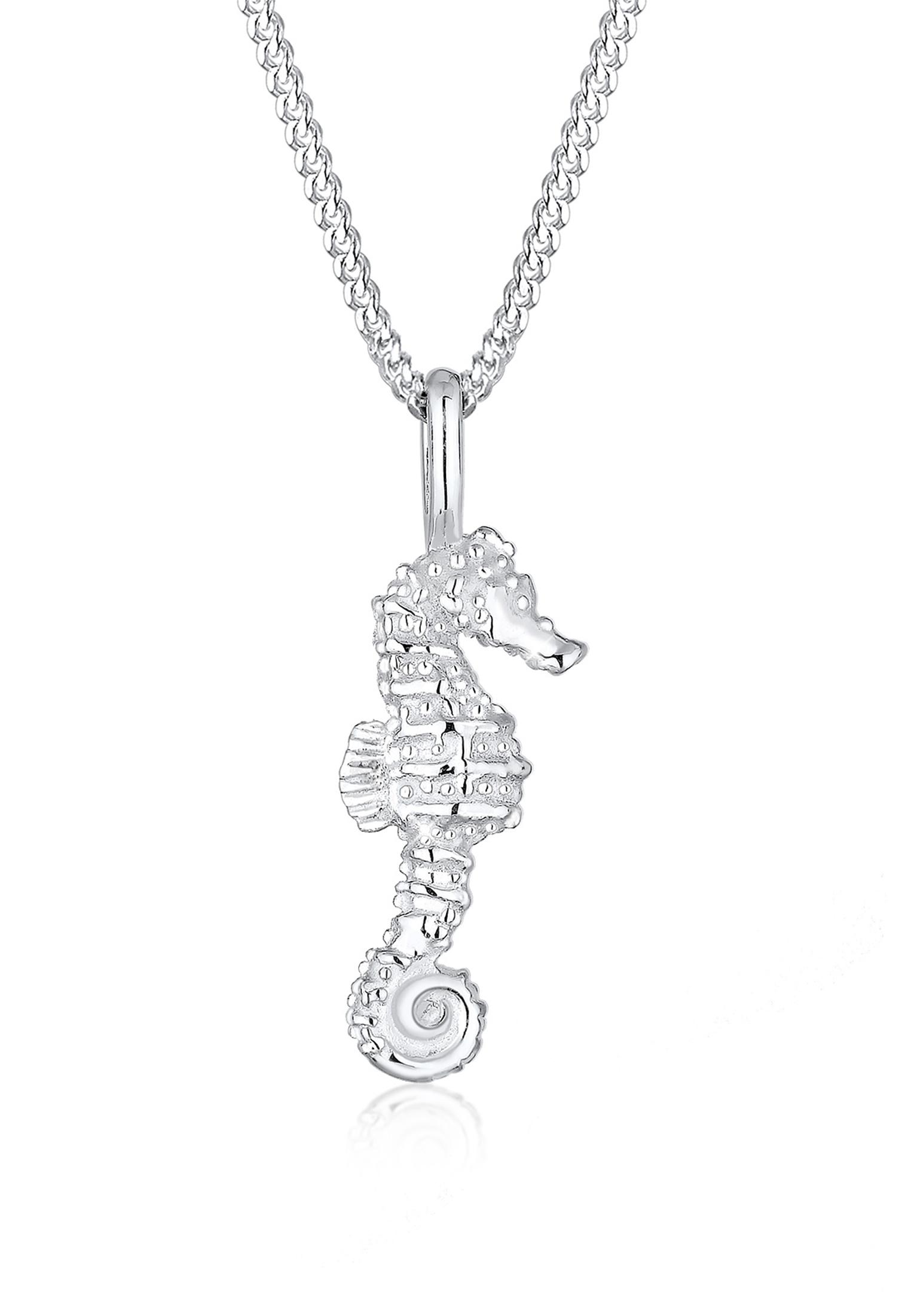 Halskette Seepferdchen   925er Sterling Silber