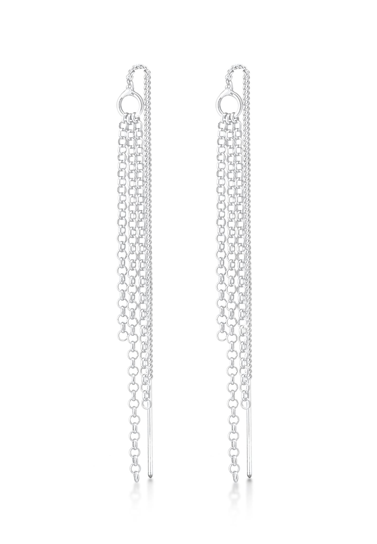 Ohrhänger Ear Chain | 925er Sterling Silber