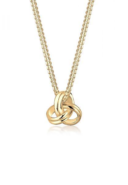 Halskette Knoten | 585 Gelbgold