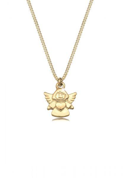 Halskette Engel | 375 Gelbgold