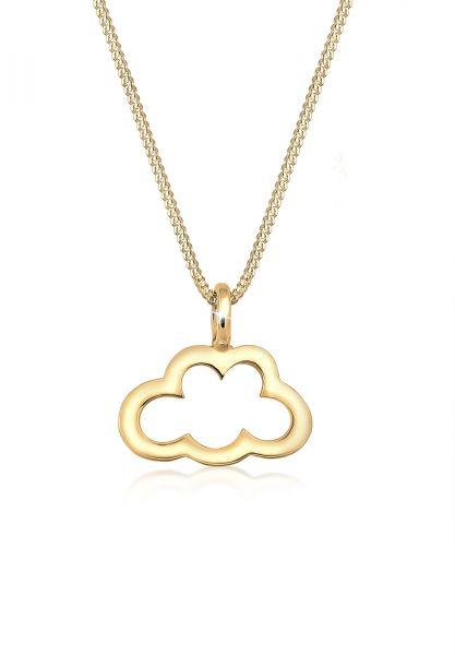 Elli Halskette Wolke Cut Out Trend Cloud 925 Sterling Silber