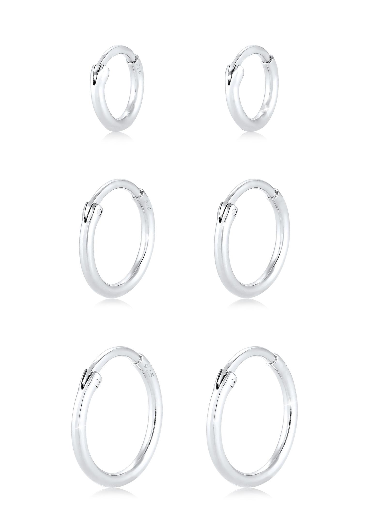 Ohrringset   925er Sterling Silber